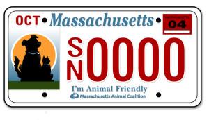 I'm Animal Friendly Plate